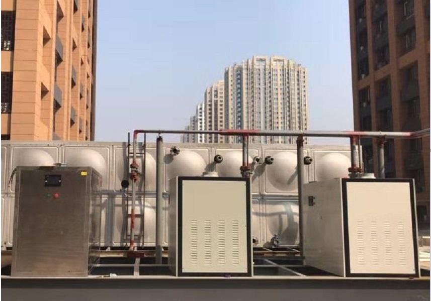 大型小区供暖型燃气rb88手机版案例